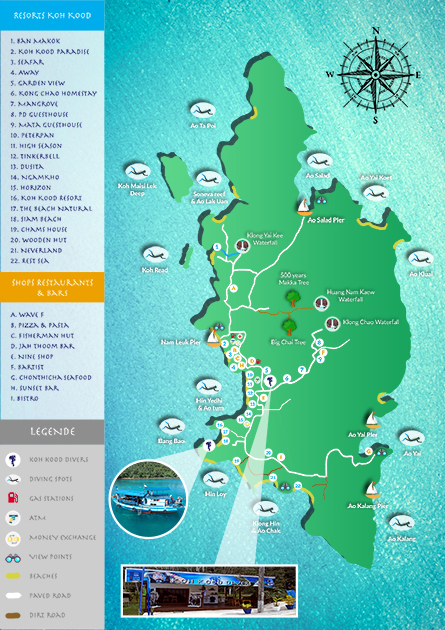 KOH KOOD MAP